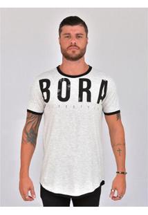 Camiseta Bora Lifestyle - Masculino-Cinza