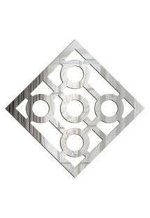 Espelho Love Decor Decorativo Quadrado Vazado Único