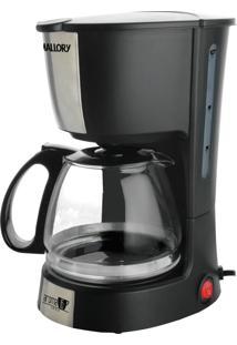Cafeteira Elétrica Aroma Preta Mallory 110V