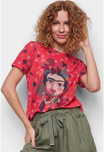 T-Shirt Cantão Slim Artista Feminina - Feminino