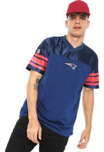 Camiseta New Era England Patriots Azul-Marinho