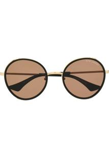 Dita Eyewear Óculos De Sol Oversized Lageos - Preto