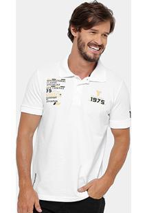 Camisa Polo Yellowl Piquet Legend Masculina - Masculino