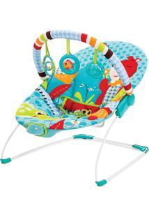 Cadeira De Descanso Vibratória Azul Urso