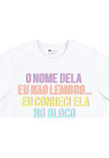 Camiseta Masculina Regular Em Malha De Algodão