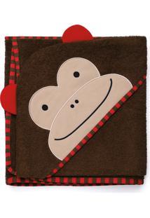 Toalha De Banho Macaco Skip Hop Marrom