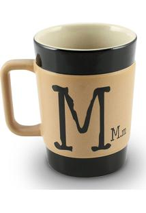 Caneca Coffe To Go- M 300Ml-Mondoceram - Pardo