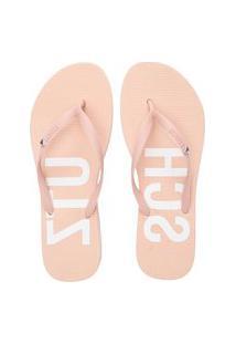 Sandália Flip Flop Triangle - Rosa