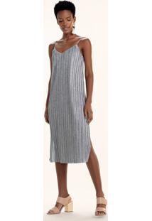 abb123650 Vestido Dzarm Fenda feminino   Shoelover