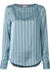 Moncler Blusa Listrada - Azul