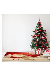 Tapete De Natal Para Sala Lista De Presentes Único