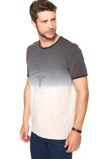 Camiseta Colcci Degradê Multicolorida
