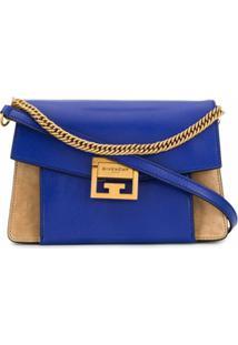 Givenchy Bolsa Tiracolo Gv3 Pequena - Azul