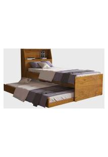 Cama Bibox C/ Baú Versátil Nature Robel