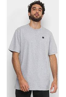 Camiseta Oakley Patch 2.0 Masculina - Masculino-Cinza