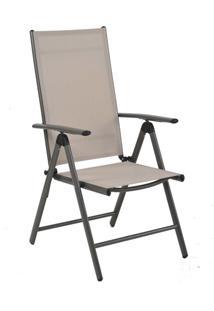Cadeira Tramandai Amêndoa Tela Bege Rivatti