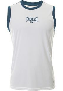 Camiseta Regata Et20014 Everlast - Unissex-Branco