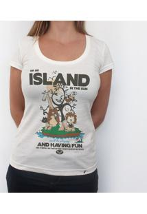 Island In The Sun - Camiseta Clássica Feminina