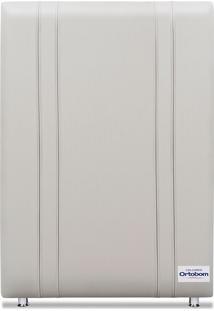 Cabeceira Tamisa Facto Branco Solteiro (8X90X125) Revestida Em Corino Ortobom - Branco - Dafiti
