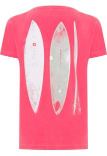 Camiseta Masculina Stone Surfboards - Vermelho