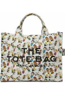 Marc Jacobs Bolsa Tote X Peanuts The Small - Branco