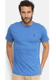 Camiseta Aleatory Mescla Masculina - Masculino