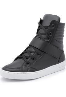 Bota Casual Top Franca Shoes Preto