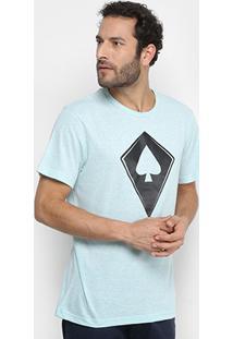 Camiseta Mcd Com Logo Masculina - Masculino-Verde Claro