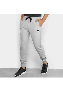 Calça Moletom Rg 518 Jogger Logo Bordada Masculina - Masculino