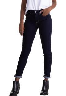 c9fae98c1e996 Levi s. Calça Skinny Cintura Media Zíper Feminina Algodão Jeans Poliester Levis  311 - Shaping 31x32