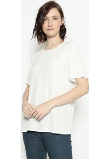 Blusa Lisa- Off White- Forumforum