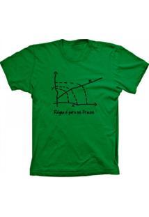 Camiseta Baby Look Lu Geek Régua Verde