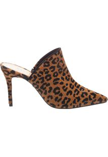Mule High Animal Print | Schutz