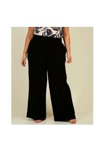 Calça Plus Size Feminina Pantalona Marisa