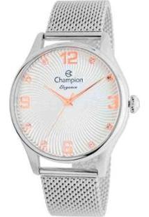 Relógio Champion Feminino Analógico Cn25716N Prata - Feminino