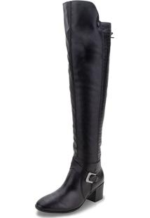 Bota Feminina Over The Knee Bottero - 314207 Preto 01 40