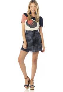 Camiseta Sly Wear Manga Curta Bege