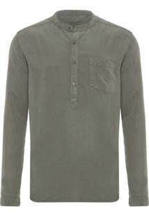 Camisa Masculina Trip - Verde