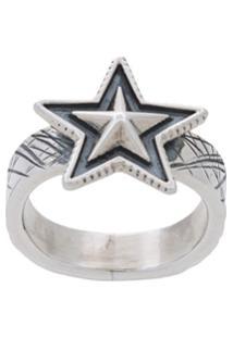 Cody Sanderson Small Star Ring - Metálico