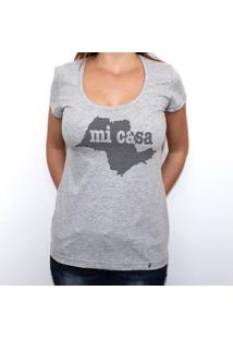 Sp Mi Casa - Camiseta Clássica Feminina