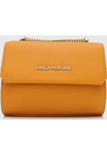 Bolsa Lança Perfume Lapela Amarela