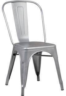 Cadeira De Jantar Iron Cinza