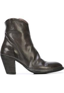 Officine Creative Ankle Boot 'Joelle' De Couro - Preto
