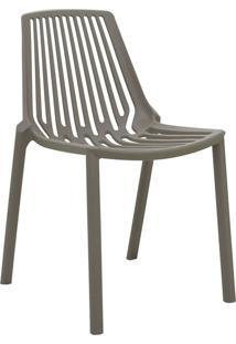 Cadeira Morgana Cinza Médio Rivatti Móveis