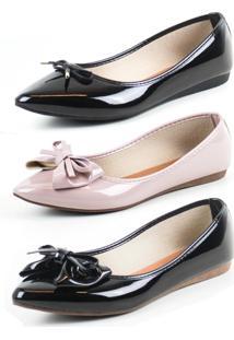Kit 3 Sapatilhas Tag Shoes