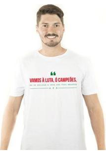 Camiseta Zé Carretilha Por Lusa Vamosaluta Masculina - Masculino