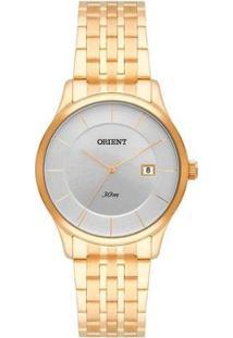 Relógio Orient Analógico Fgss1123 S1Kx Feminino - Feminino-Dourado
