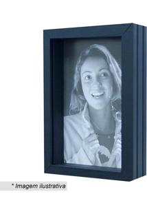 Porta Retrato- Preto- Tamanho Da Foto: 21X15Cm- Kapos