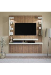 Painel Para Tv 47 Polegadas Atrantis 160 Cm Pinho E Off White