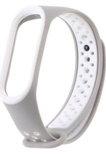 Pulseira Dagg Bracelete Pedômetro Running - Cinza
